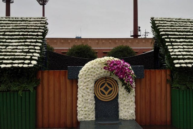 川口市戦没者追悼式