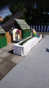 戦没者追悼式祭壇